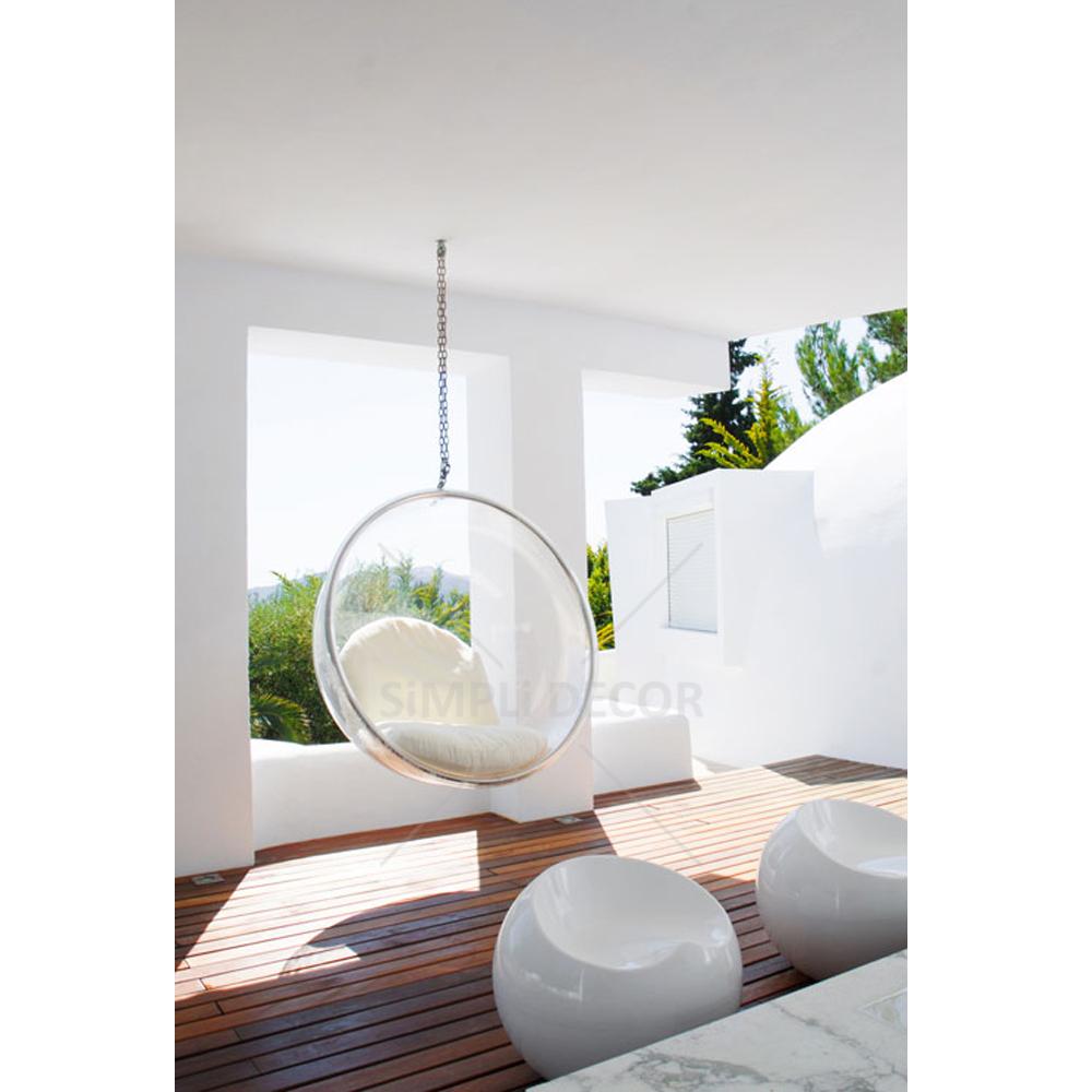 bubble chair replica milk decor. Black Bedroom Furniture Sets. Home Design Ideas