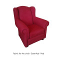 Classic rocking chair Red