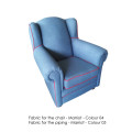 Classic rocking chair blue