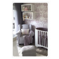Classic rocking chair light grey