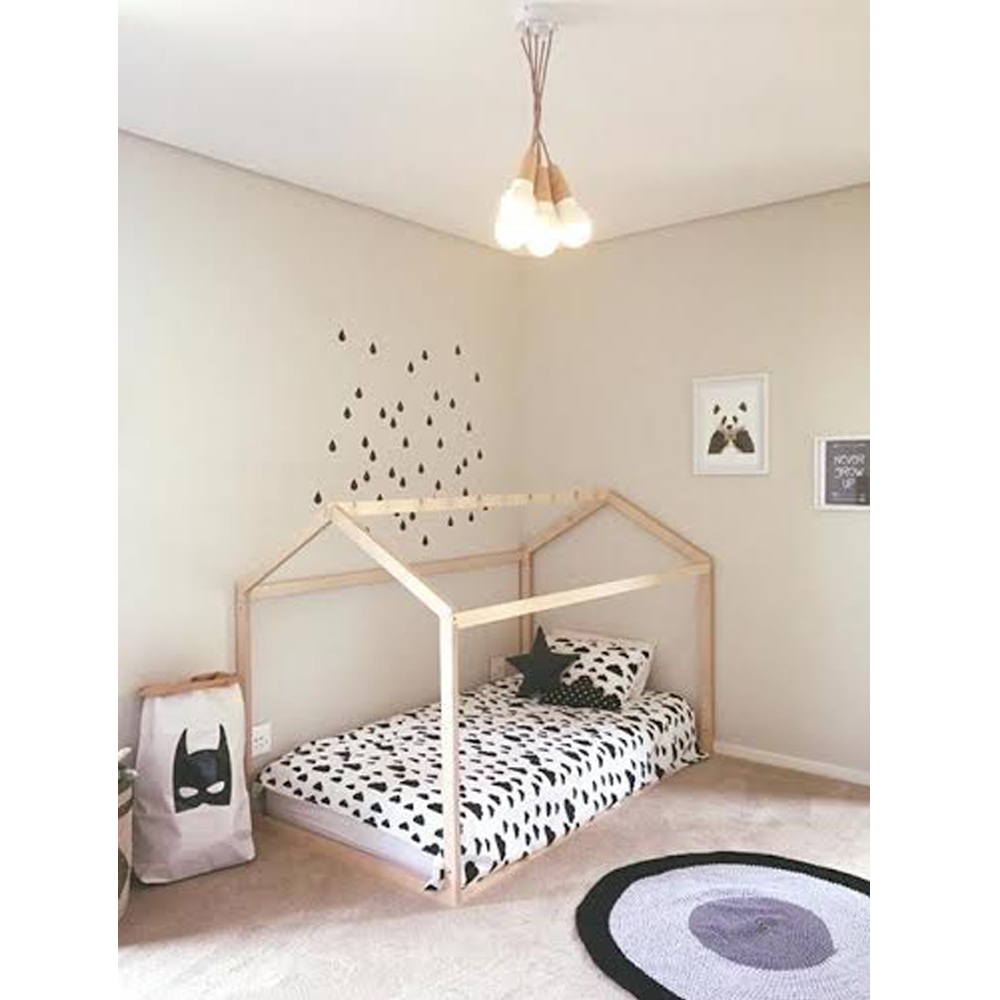 House bed 28 images baby girls room loft tree house for Frame house bed