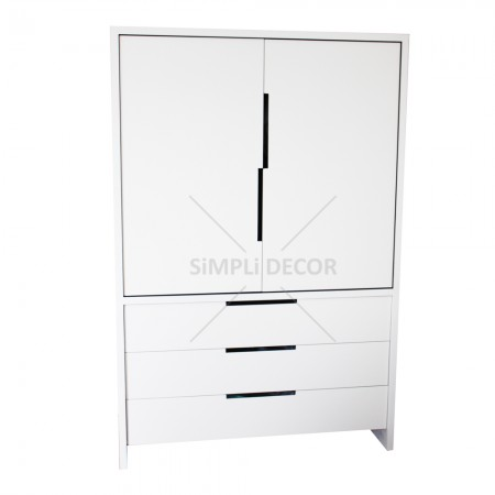 Kelan dresser in white