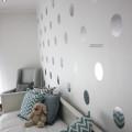 Metalic wall dots 3