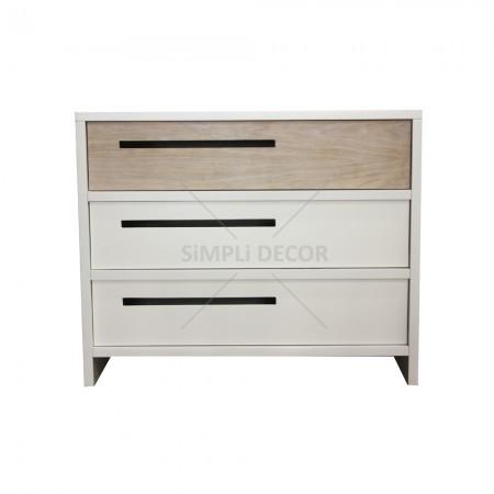 Quado compactum in white and wood