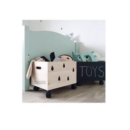 Toy Box on wheels