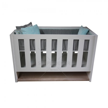 Zaya cot with shelf 2